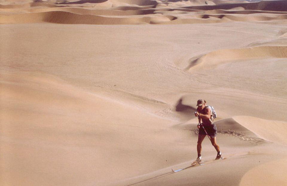Namibia: Skifahren in der Wüste