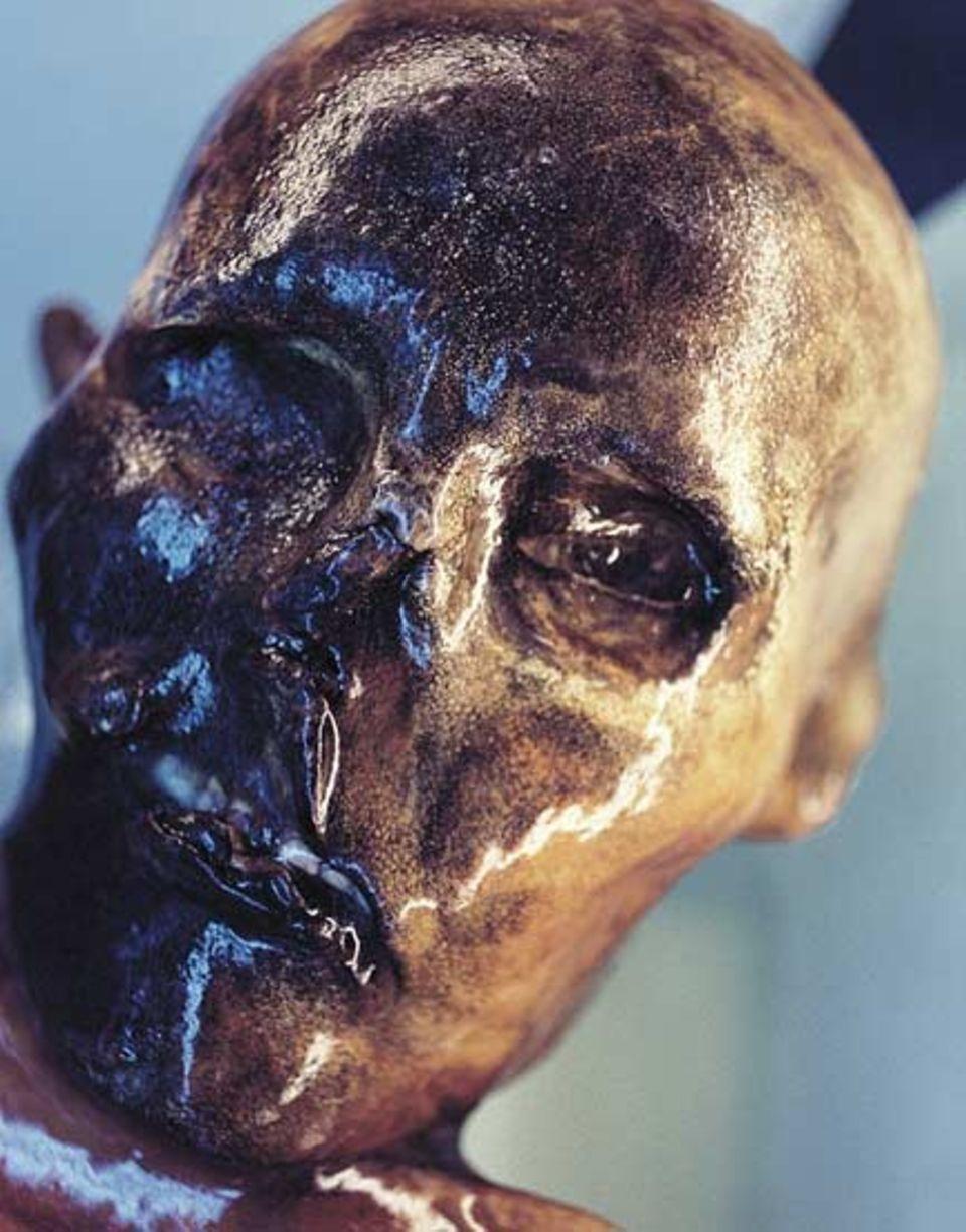 Eis und Trockenheit ließen aus Ötzis Körper eine Mumie werden.