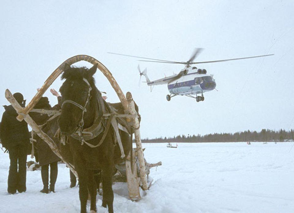 Neun Monate lang sind die Polarflieger in Sibirien die einzige Möglichkeit, Distanzen zu überwinden