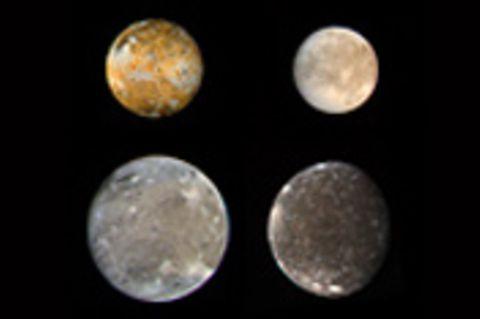 Die Monde anderer Planeten