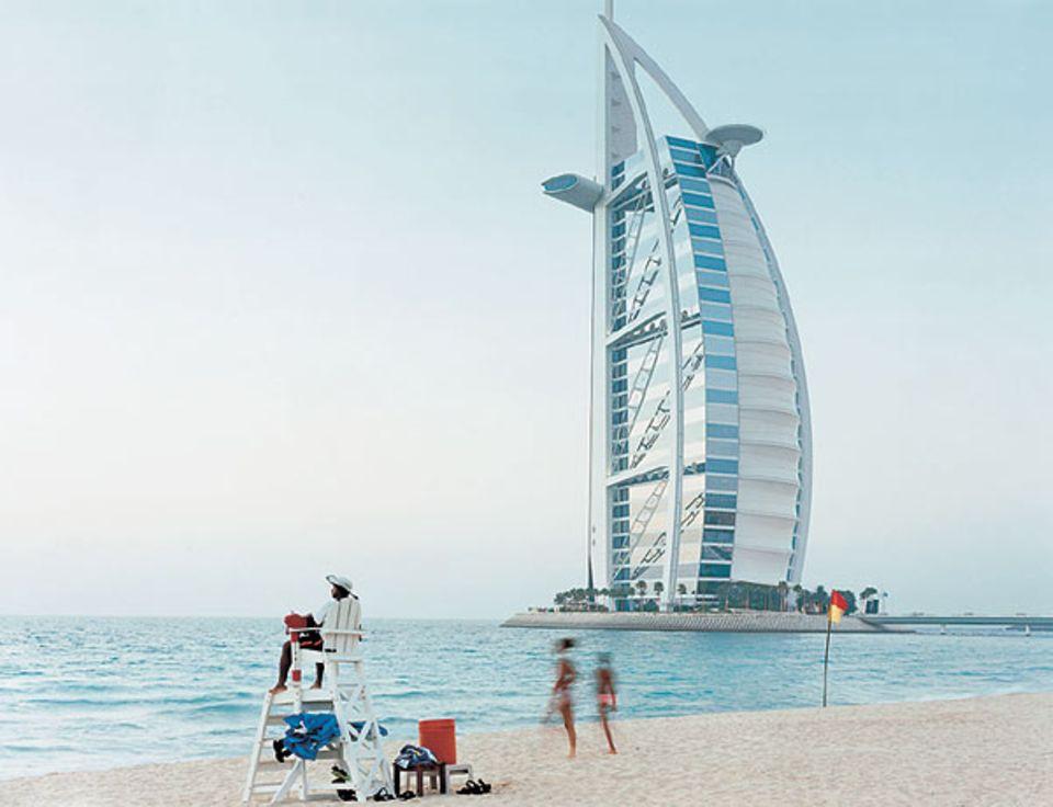 "Geniale Werbung: Das geblähte Segel des ""Burj Al Arab"" machte Dubai weltberühmt"