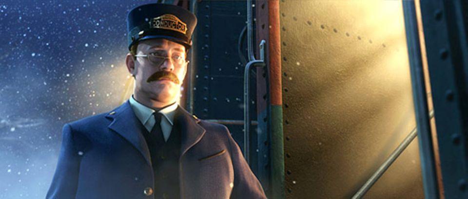 """Der Schaffner: """"Wo der Zug hinfährt spielt keine Rolle. Wichtig ist nur, dass man einsteigt."""""""