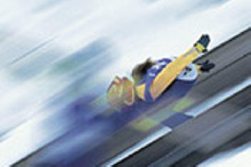 Beruf: Skispringer