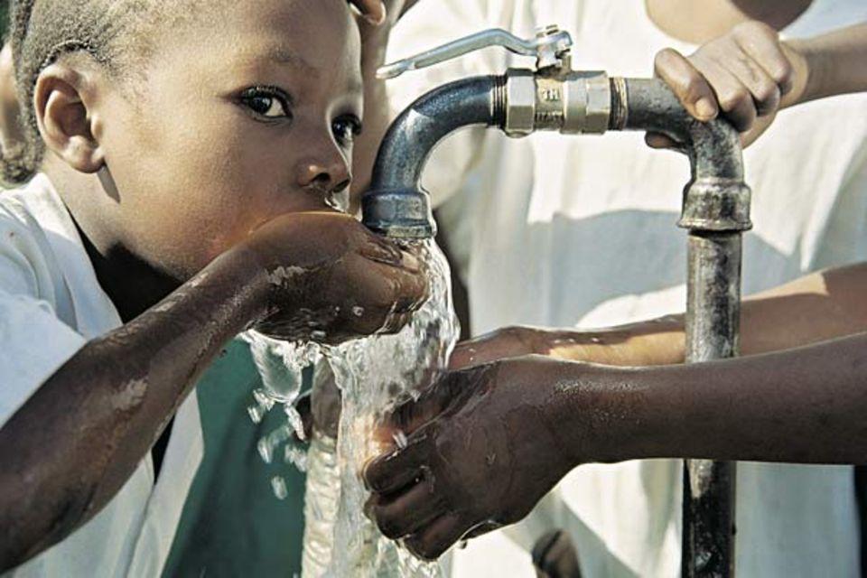 In vielen Ländern ist sauberes Wasser keine Selbstverständlichkeit