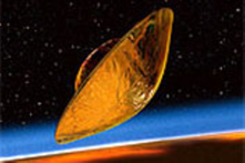 """""""Huygens"""" landet auf Saturn-Mond Titan"""