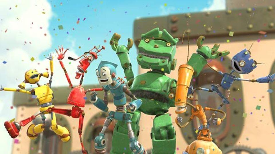 Rodney und seine Freunde in Robot-City