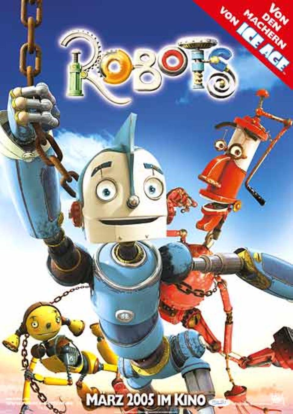 """""""ROBOTS"""" - ab 17. März 2005 in den deutschen Kinos"""