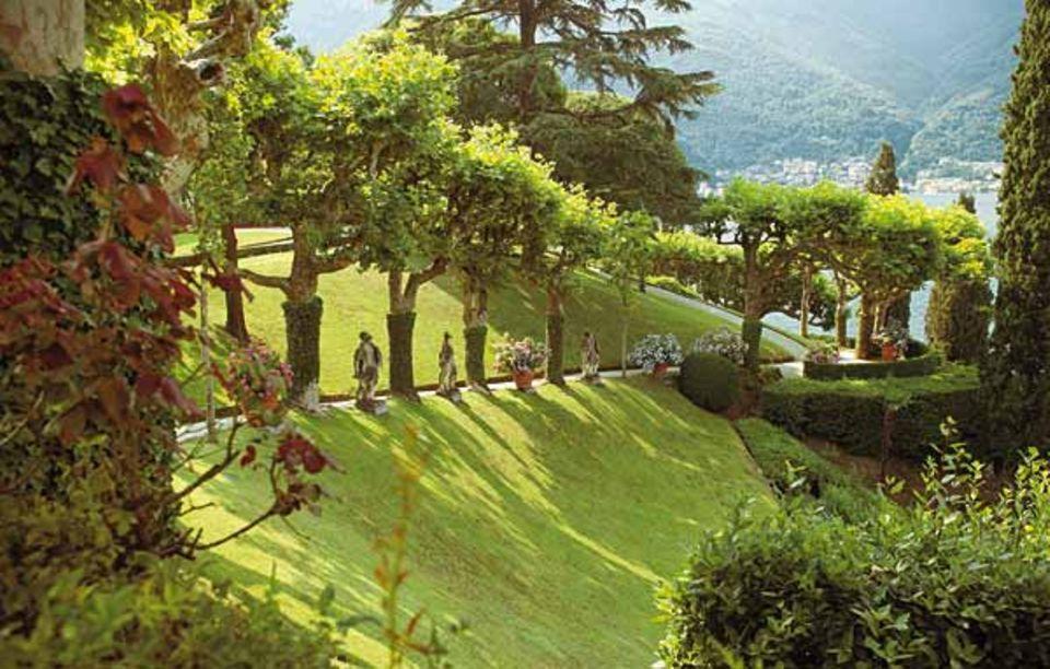 Comer See: Der Barockpark der Villa Balbianello bei Lenno