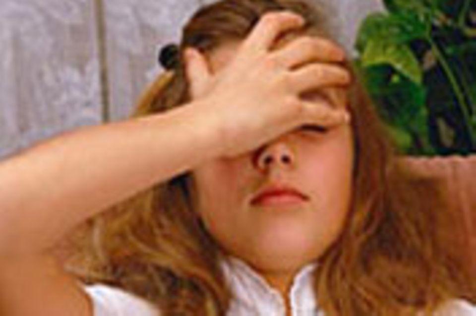 Gesundheit: Kopfschmerzen bei Kindern