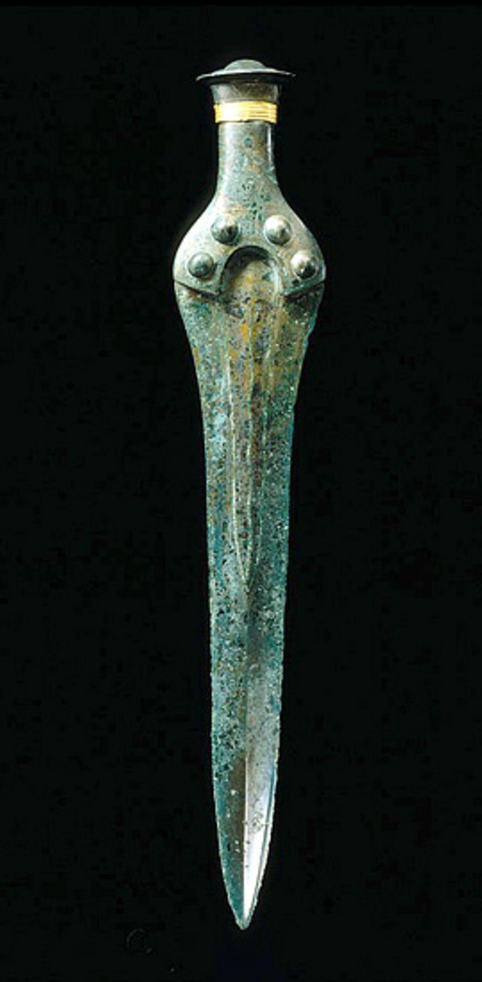 Himmelsscheibe von Nebra: Ein anderer Fund aus der Bronzezeit: Das Kurzschwert von Nebra