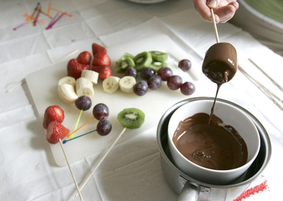 Rezept: Tauchbad in der Schokolade