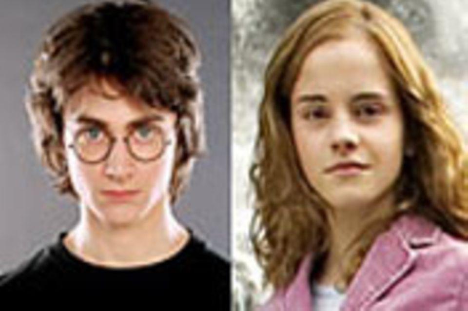 Harry Potter Filme: Wer Harry und Hermine spielt