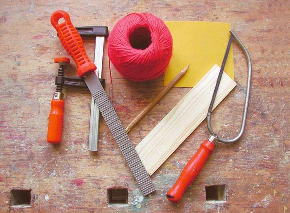 Australisches Musikinstrument: Benötigtes Bastelmaterial und Werkzeug