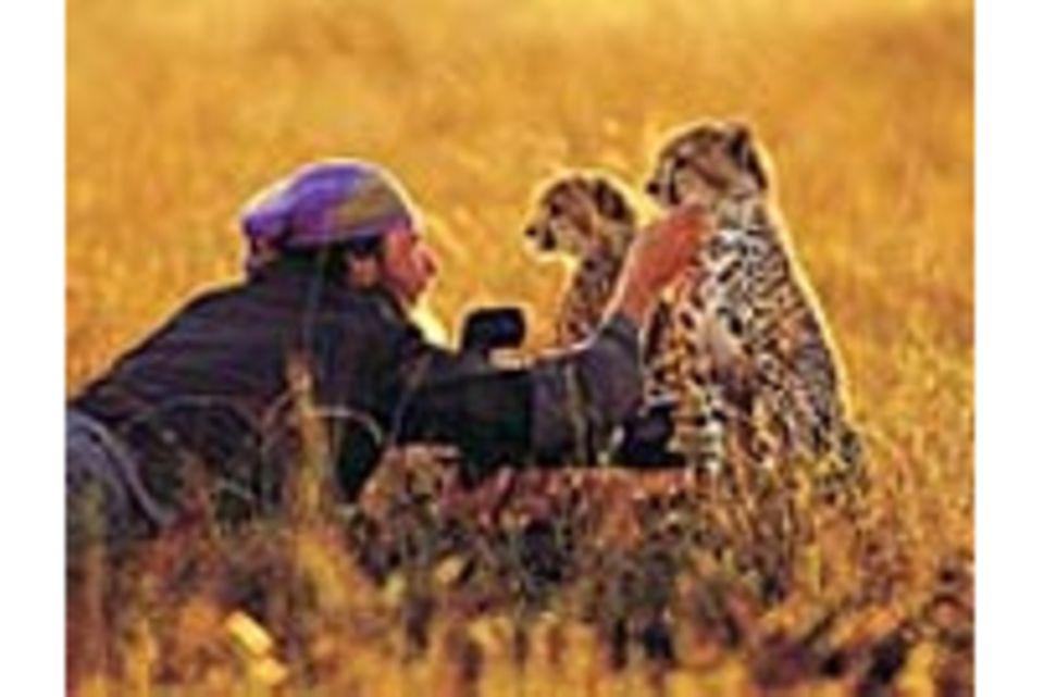 """""""Mit den Tieren lebe ich ganz gepardisch"""""""