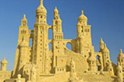 Märchenschlösser aus Sand