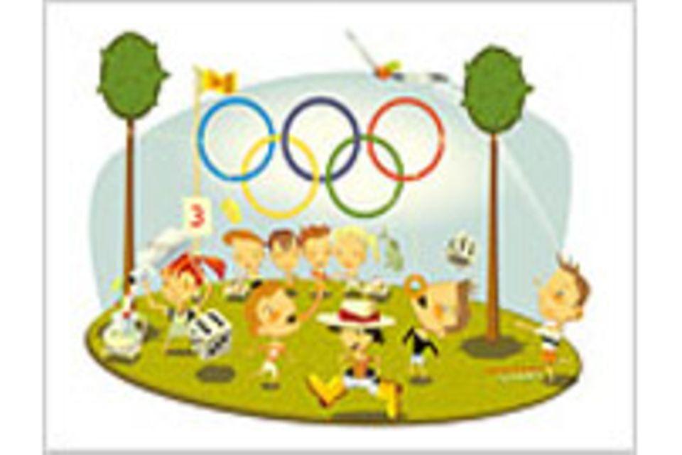 Die verrückte Sommer-Olympiade