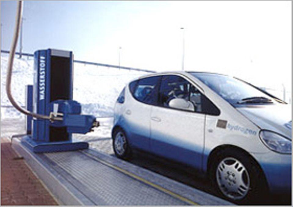 Saubere Sache: Brennstoff-Zelle als Autoantrieb