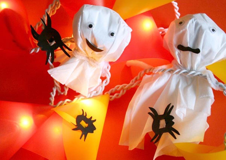 Halloween: So toll sehen die gruseligen Halloween-Lichterketten aus, wenn sie fertig sind
