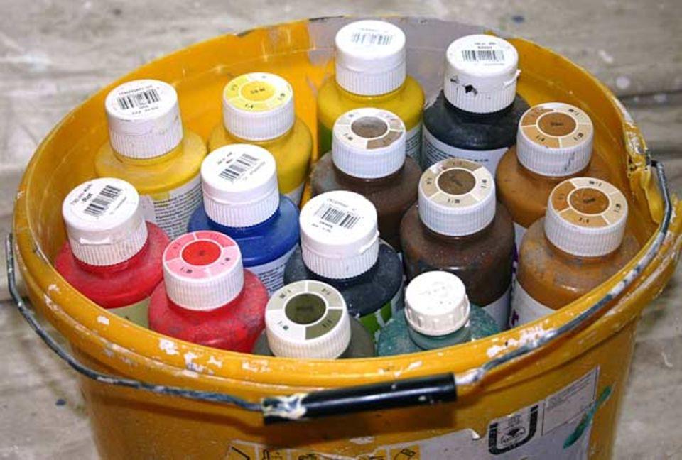 Beruf: Rot, gelb, grün oder blau - welche Farbe darf's denn sein?