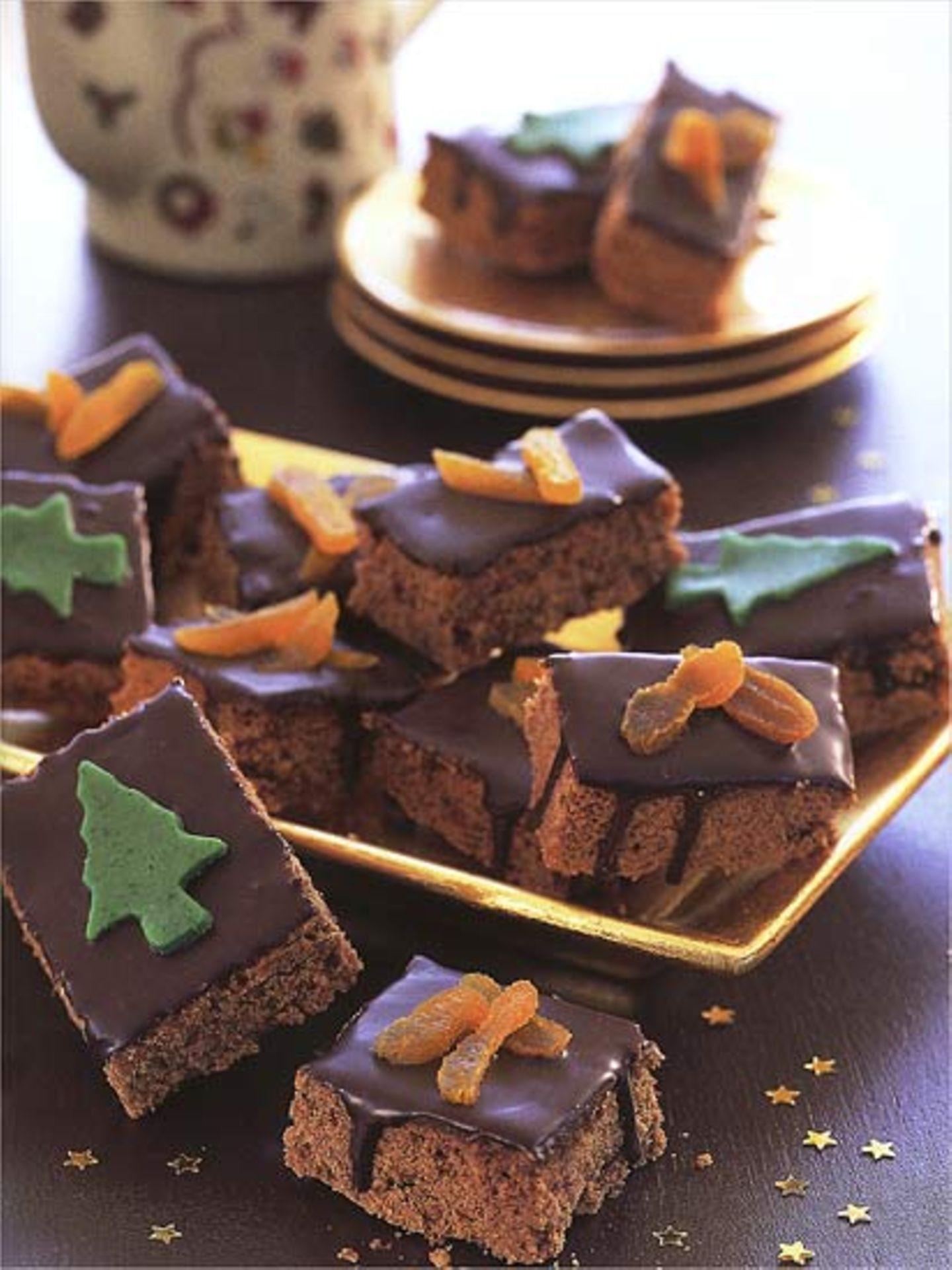 Rezept: Lebkuchen-Brownies