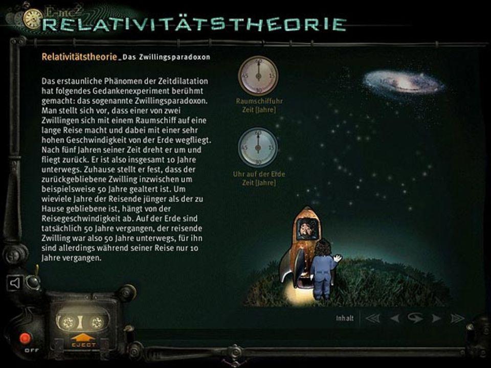 Selbst Albert Einsteins komplizierte Relativitätstheorie wird hier verständlich erklärt