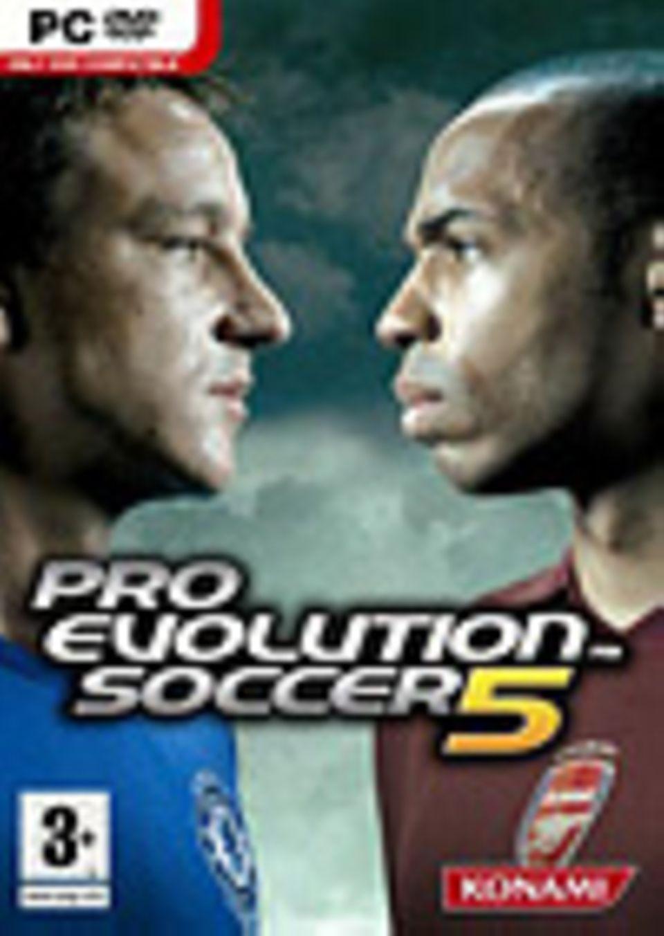 """Fußballspielen wie die Profis: """"Pro Evolution Soccer 5"""""""