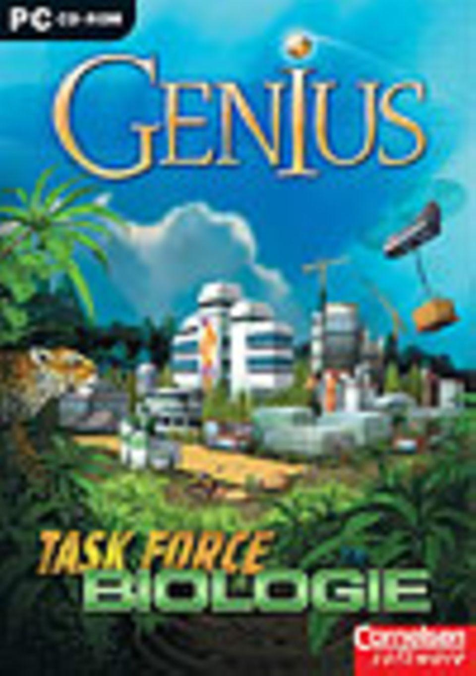 """Genius Task Force Biologie"". Cornelsen, ab 12 Jahren. Ca. 20 Euro"
