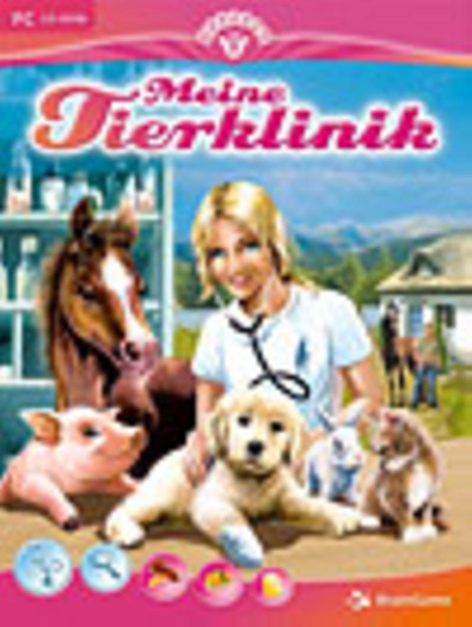 """""""Meine Tierklinik"""". BrainGame, ab 9 Jahren. Ca. 25 Euro"""