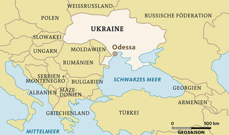 Odessa, direkt am Schwarzen Meer gelegen, ist Schauplatz großer Geschichte