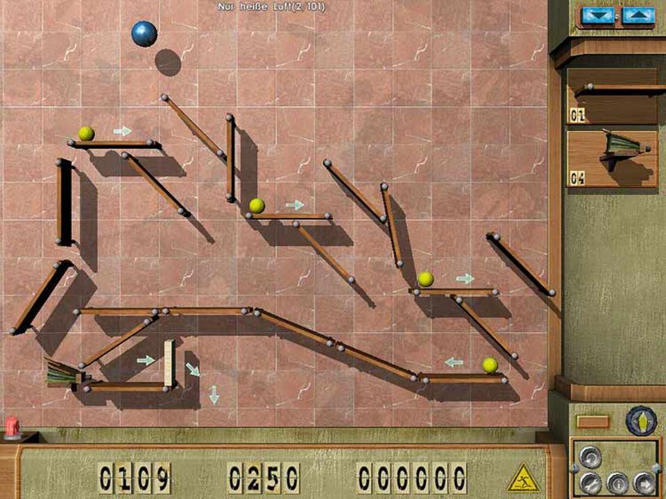 """Bei """"Crazy Machines"""" hat der Spieler ein eigenes Labor, in dem er experimentieren kann"""