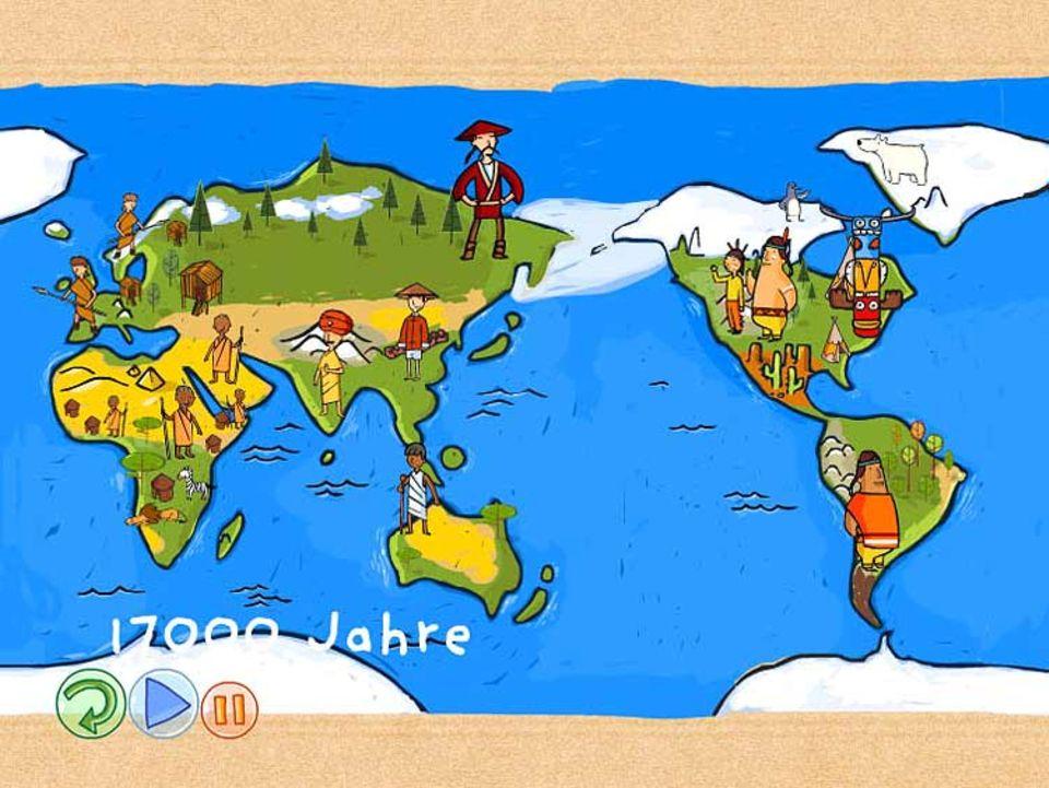 """""""Der Kleine Prinz erforscht die Erde"""" ist eine Lernsoftware, die sich besonders an jüngere Spieler wendet"""