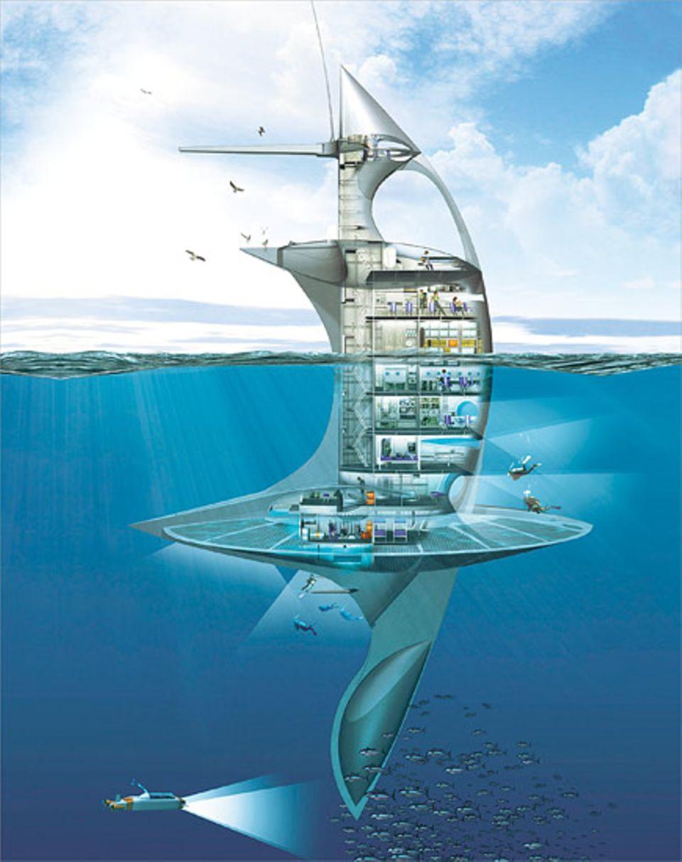 """Der """"Sea Orbiter"""" soll die Weiten der Ozeane erkunden und die gesamte Welt umrunden"""