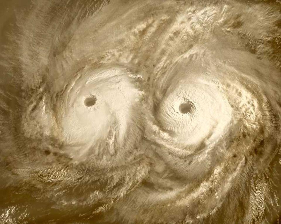 Am Nordpol der Venus wütet ein gigantischer atmosphärischer Wirbel. Venus Express soll helfen, ihn zu verstehen
