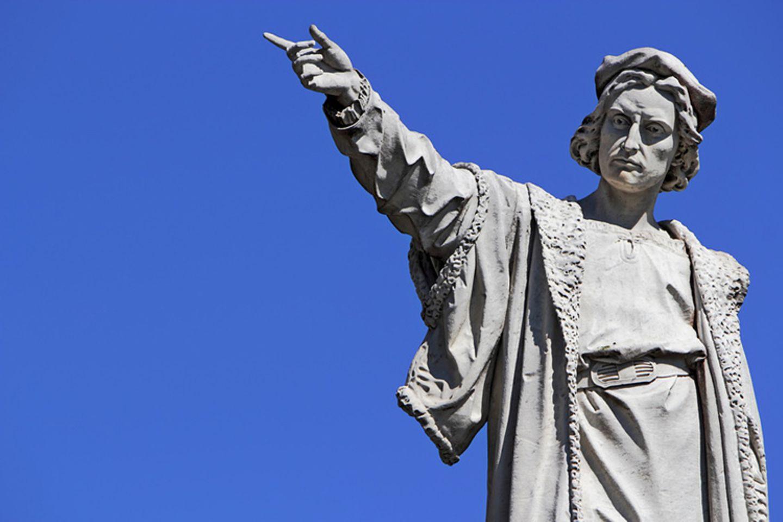 Berühmter Entdecker: Christoph Kolumbus entdeckte 1492 einen neuen Kontinent: Amerika