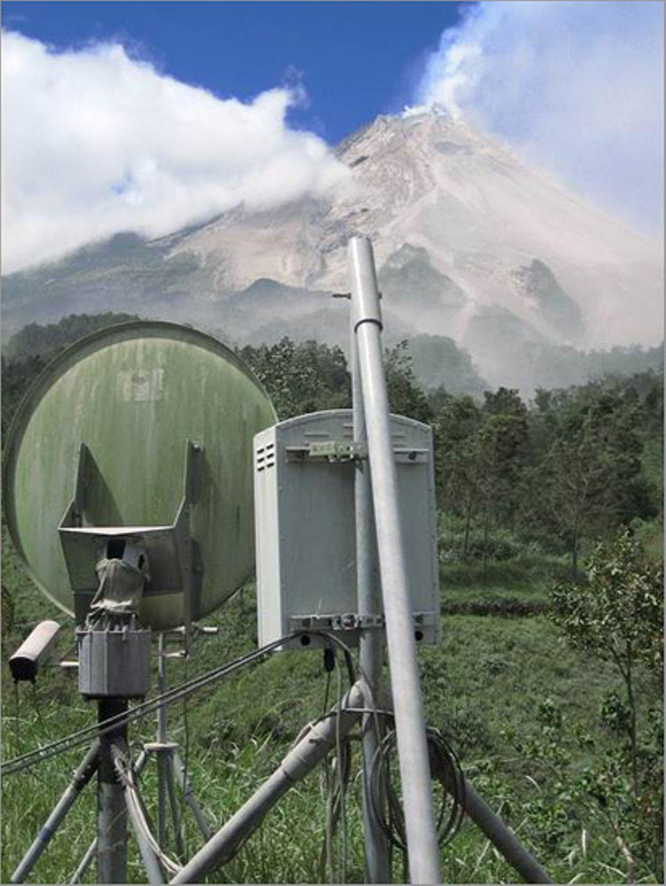Das Radar läuft wieder: Der Observator kann nun die Aktivität am Dom zu jeder Zeit überwachen