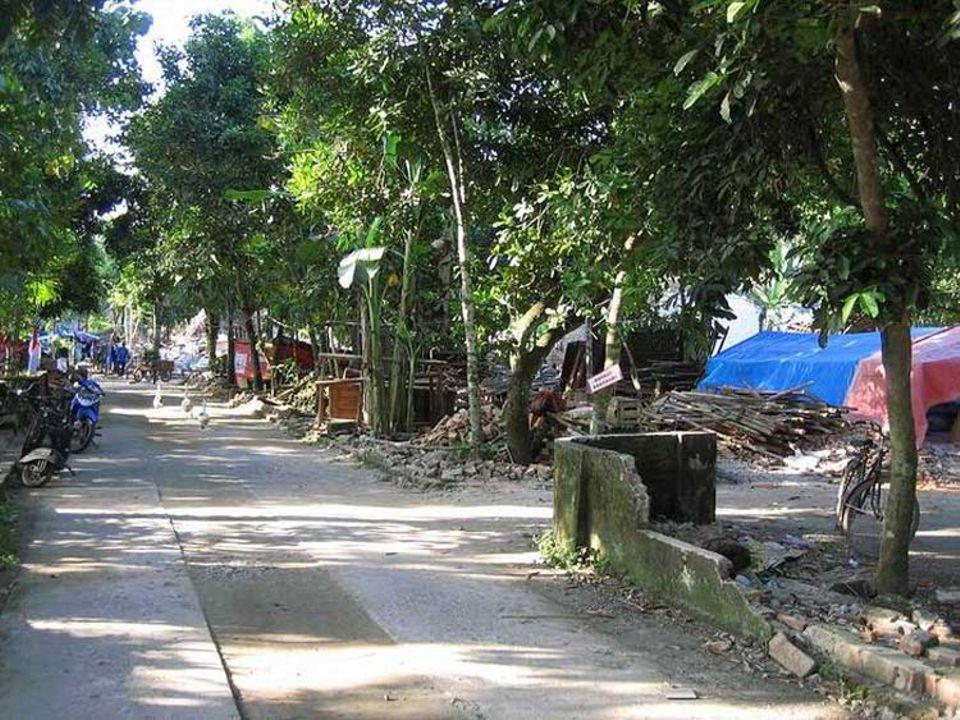 Die Zerstörung ist gewaltig: Viele Häuser liegen in Schutt und Asche