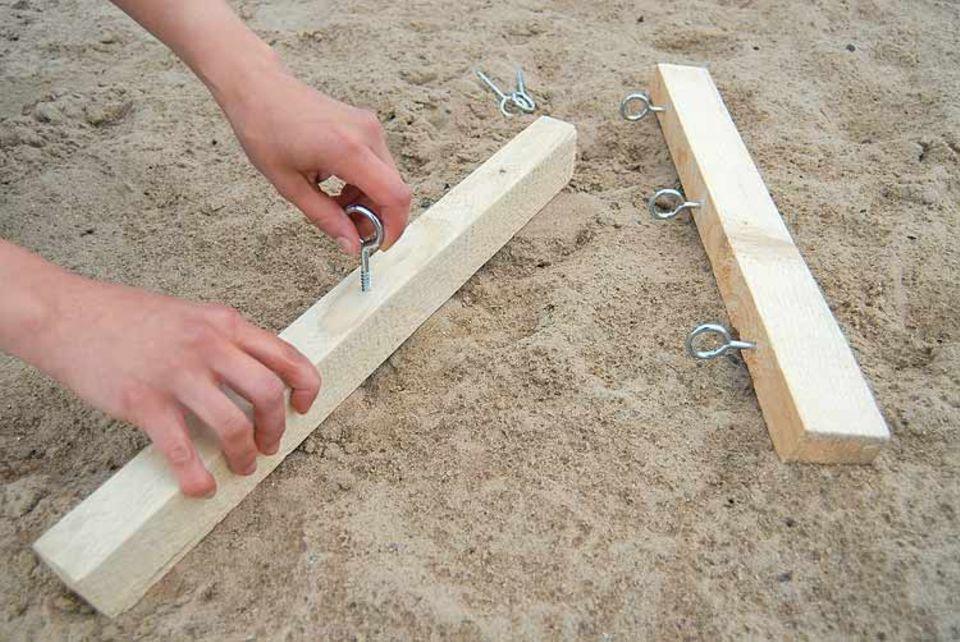 Basteltipp: Flaschenzug bauen