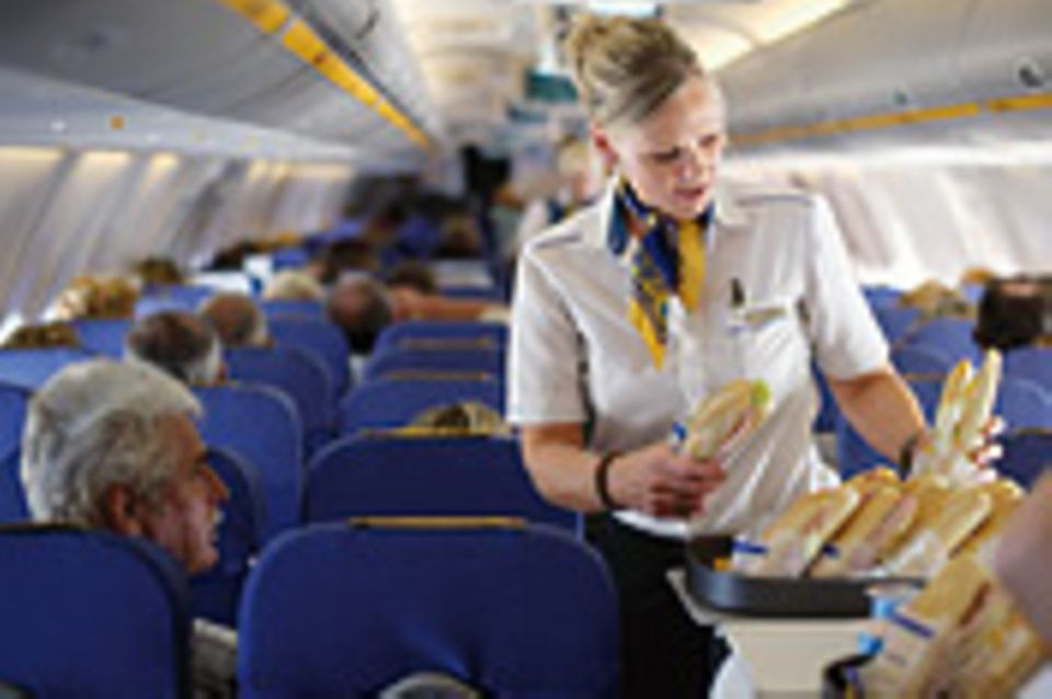 Beruf: Flugbegleiterin