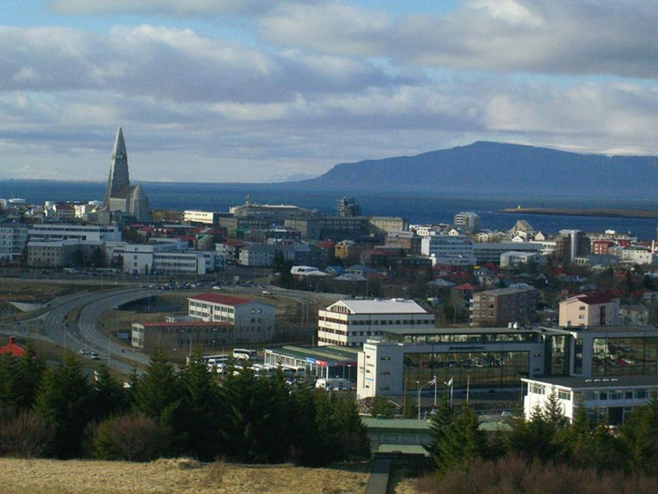 Ist es Tag oder schon Nacht? Das weiß man in Reykjavik nie so genau