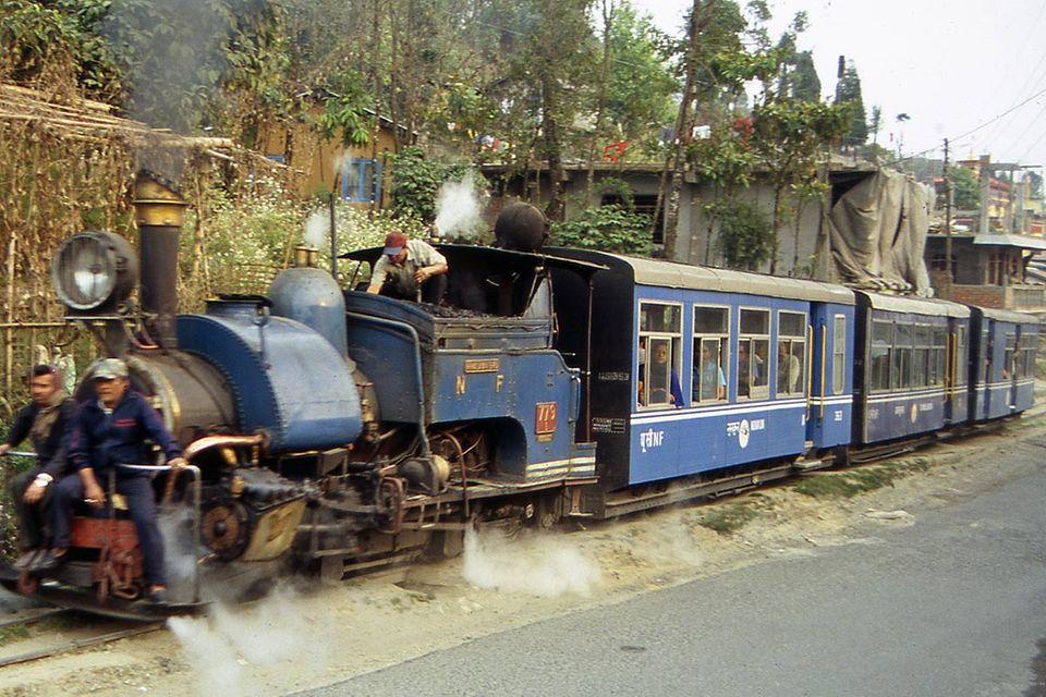 Die Teebahn von Darjeeling