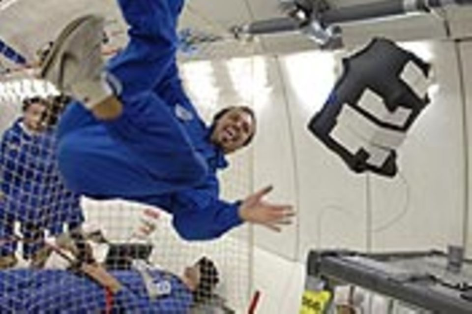 Parabelflug: Forschung im freien Fall