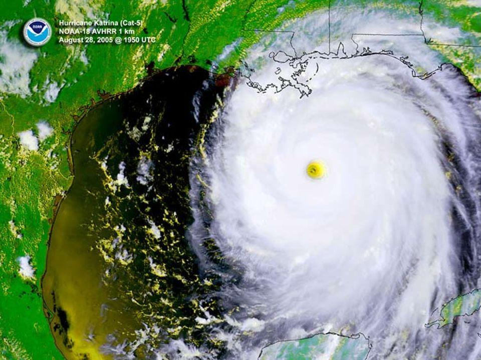 Wo wird der Sturm auf die Küste treffen? Und wann? Im NOAA, dem Nationalen Hurrikan-Zentrum der USA, überwachen der Meteorologen die neuesten Wettermeldungen