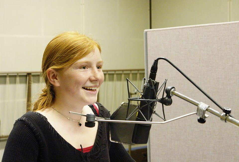 """Nina ist 14 Jahre alt und spielt in """"Skogland"""" die Rolle der Malena"""