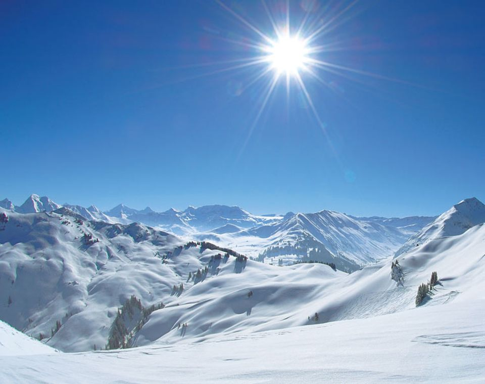 Schweiz: Winter ohne Ski