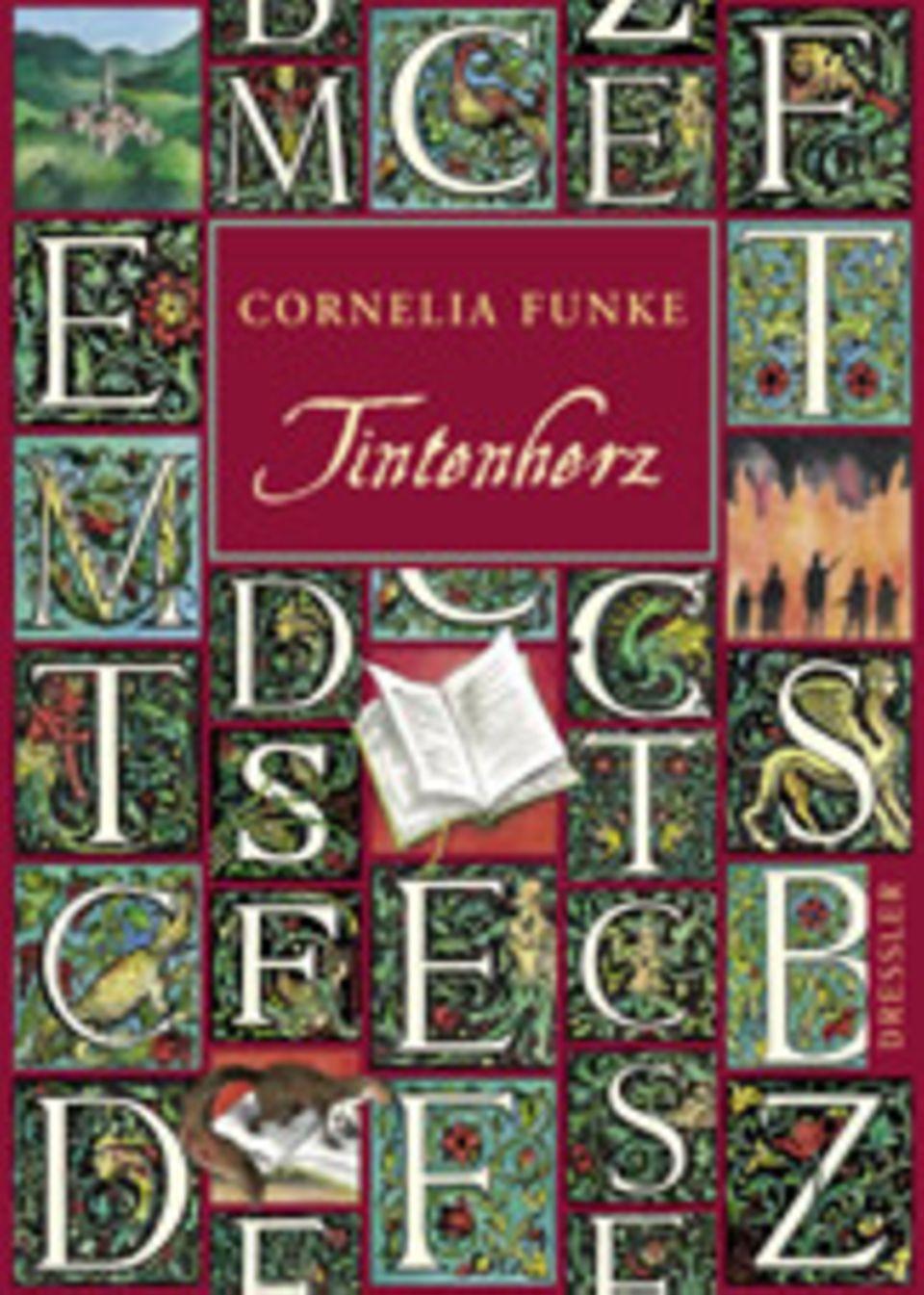 Cornelia Funke: Tintenherz. Dressler, 576 Seiten, 19,90 Euro