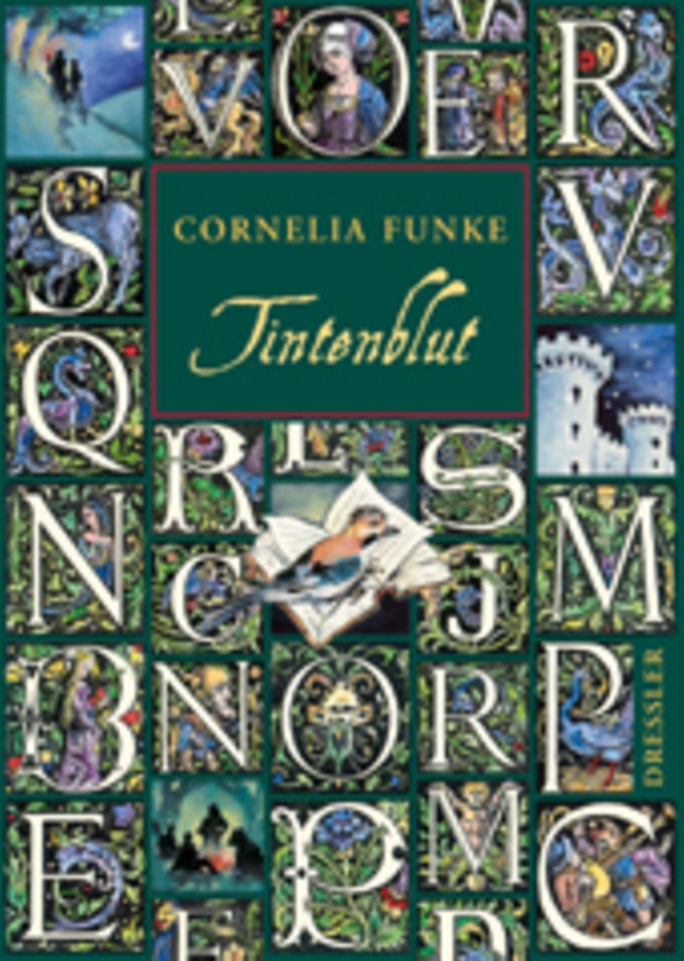 Cornelia Funke: Tintenherz. Dressler, 736 Seiten, 22,90 Euro