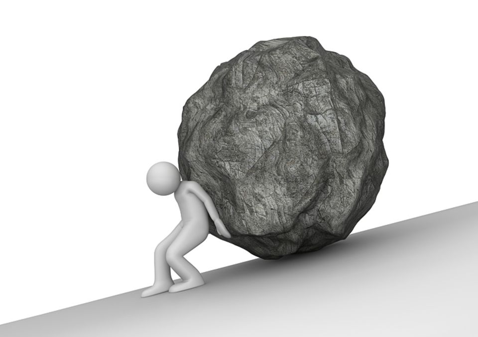 Redewendung: Sisyphusarbeit
