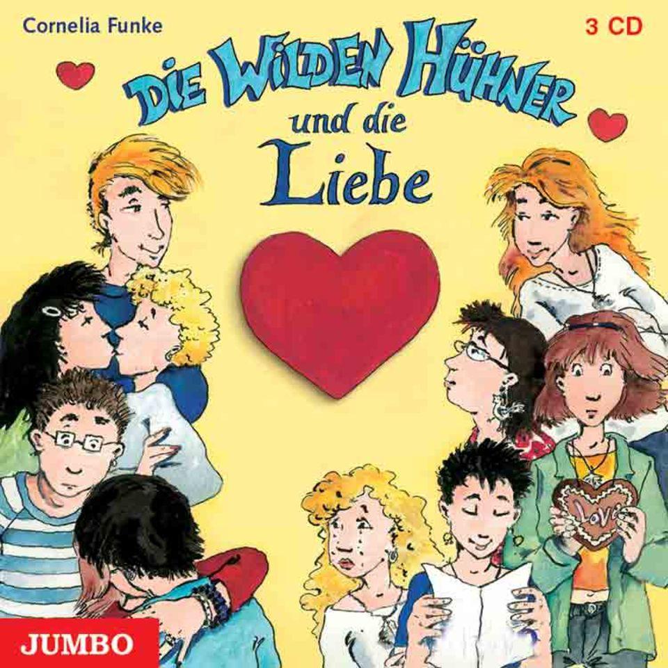 Cornelia Funke: Die wilden Hühner und die Liebe Gelesen von: Cornelia Funke Jumbo, 220 Minuten, EUR 16.95 Ab 10 Jahre