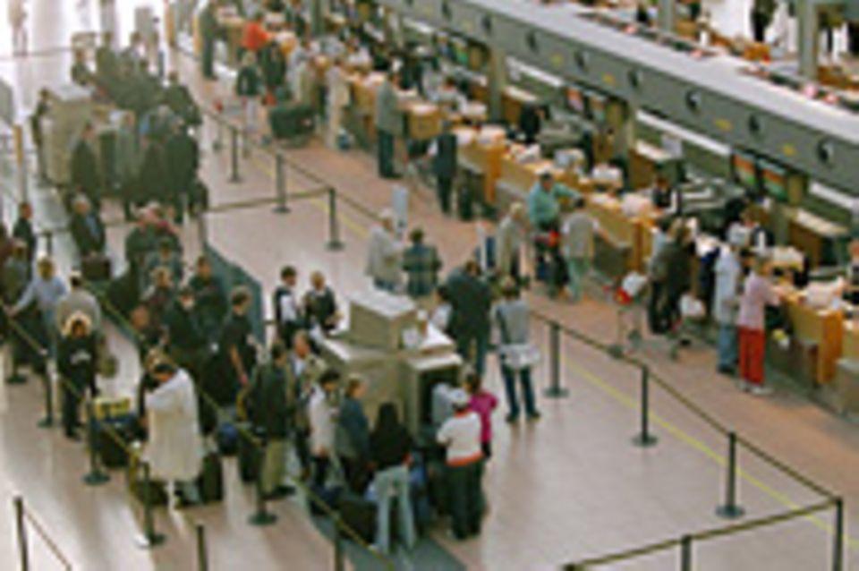 Ein Tag am Flughafen - ohne ein Flugzeug zu besteigen