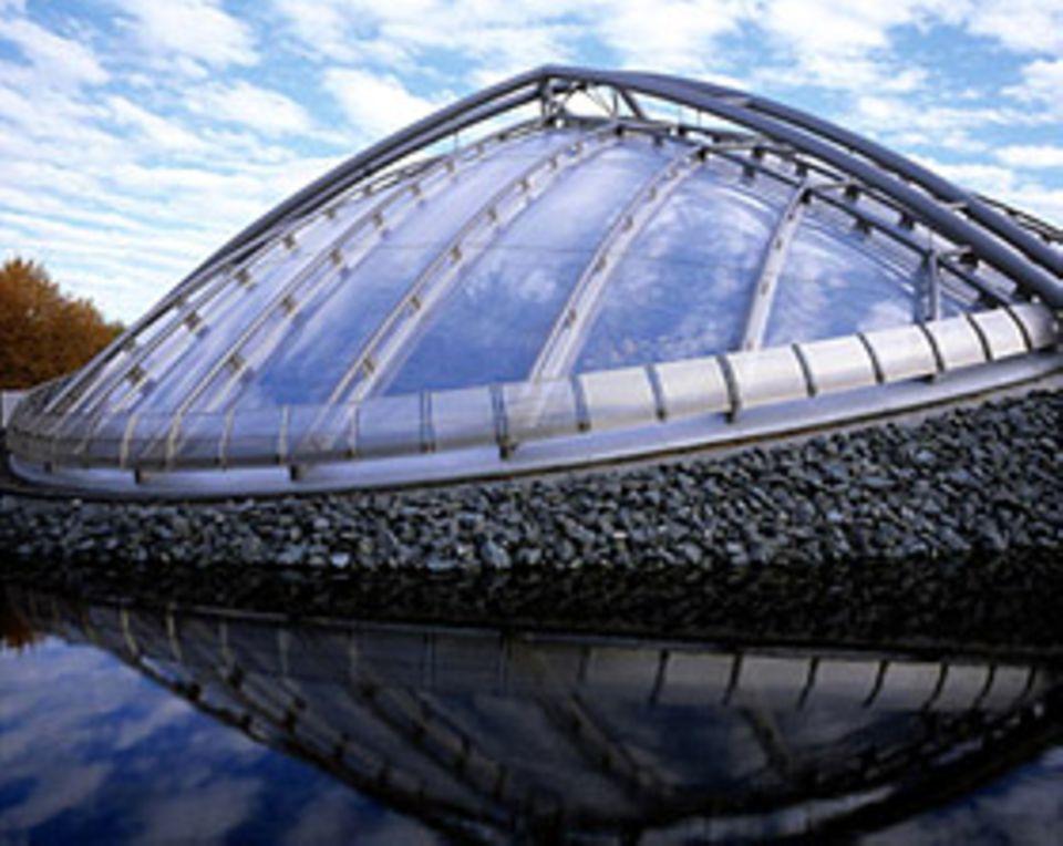 Das Regenwaldhaus ist jetzt ein Tropen-Aquarium